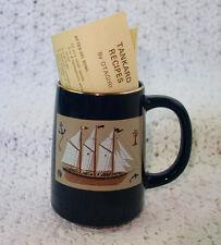 Otagiri Gibson Greetings Clipper Ship Tankard Mug Stein Japan
