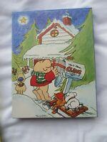 Vintage 1980s ZIGGY Tom Wilson Christmas Card Envelope Stationary In Box New