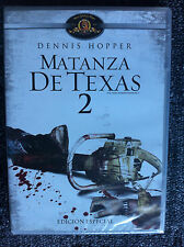 THE TEXAS CHAINSAW MASSACRE 2 - DVD REGION 2/UK - Dennis Hopper