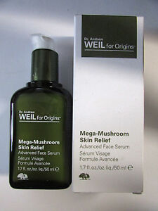 DR.ANDREW WEIL MEGA-MUSHROOM SKIN RELIEF ADVANCED FACE SERUM -1.7 OZ.  NEW
