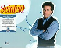 JERRY SEINFELD SIGNED AUTOGRAPH 8X10 PHOTO COMEDY LEGEND BECKETT BAS COA