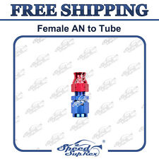 "-6 AN 6 AN -6 Female to 5/16"" Tube Thread Fitting Hard Line Adapter Straight"