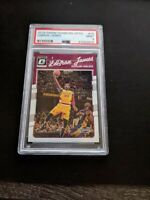 2016-17 Panini Donruss Optic LeBron James W Kobe Bryant #15 PSA 9 GEM MINT RARE!