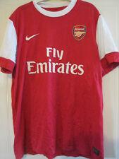 Arsenal 2010-2011 Home Football Shirt Size Large Gunners /35763