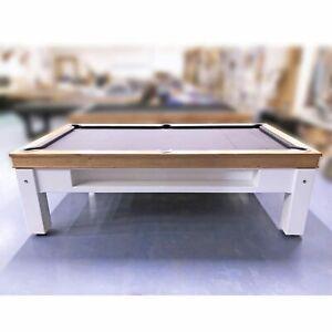 7 Foot Slate Evolution Ball Return Pub Pool Billiard Table - With Storage