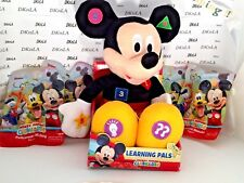 Disney Jr Learning Pals Mickey Mouse Makes learning fun & Clubhouse Mini Figures