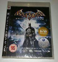 Batman Arkham Asylum PS3 New Sealed UK PAL Version Game Sony PlayStation 3 RARE