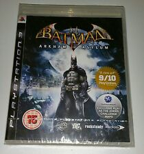 Batman Arkham Asylum PS3 New Sealed UK PAL Version Game Sony PlayStation 3 RARE
