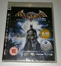 BATMAN Arkham Asylum PS3 Nuovo Sigillato UK Pal Versione GAME Sony PlayStation 3 RARO