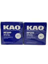 "KAO 3.5"" Disks MF2HD - 2 10 Packs, 20 Total - NEW IBM PS/2 2 MB"