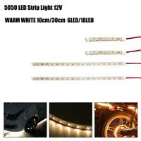 10/30CM 5050 LED STRIP LIGHTS RED GREEN BLUE DC12V TRAILER CARAVAN BOAT CAR