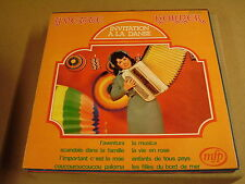ACCORDEON LP / YVETTE HORNER - INVITATION A LA DANSE