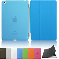 Smart Stand Magnetic Leather Case Cover For APPLE iPad Air 4 3 2 Mini Sleep Wake
