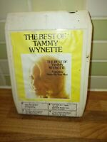8 Track Cartridge The Best Of Tammy Wynette Vintage Rare Authentic.