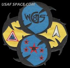 ORIGINAL WGS 8 - WIDEBAND GLOBAL SATCOM -DELTA IV- USAF SATELLITE Mission PATCH