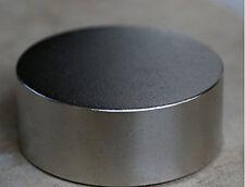 N52 Diameter 50mm x 20mm Round Cylinder Neodymium Permanent Magnets D50 x 20 mm