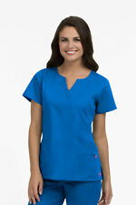 Med Couture Women's Crossover Scrub Top