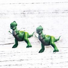 5 x 50MM REX FROM TOY STORY LASER CUT FLAT BACK RESIN HEADBANDS HAIR BOWS CRAFT