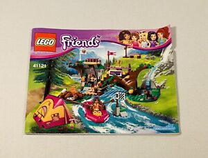 LEGO Friends Adventure Camp Rafting Set 41121 Instruction Manual Only