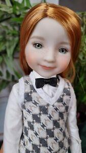 Ruby Red doll. Alexandra. 37 sm