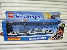 Rare Lesney Matchbox 1975 Sea Kings K-305 Submarine Chaser Never Opened Nu Boxed