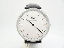 Daniel Wellington 0206DW Mens Classic 40mm Sheffield Silver Watch