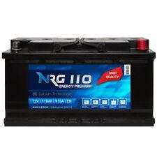 NRG PREMIUM Autobatterie 12V 110Ah 910A/EN Starterbatterie statt 90Ah 95Ah 100Ah