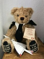 Hermann Teddy Bear Concorde Memorial Bear 41 Cm. Limited Unrecorded