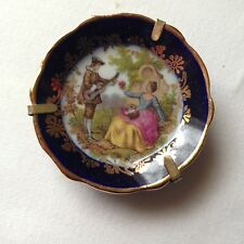 Pre-Owned Small Hand Painted Hanging Decorative Plate * France * Free Shipping