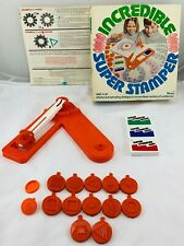 1976 Incredible Super Stamper by Hasbro in Great Condition FREE SHIPPING