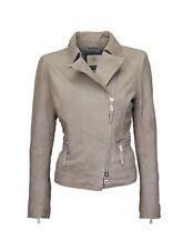 BOGNER Jeans Damen Lederjacke / Bikerjacke Jacke, Size: S / Wildleder