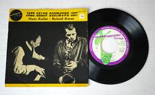 "7"" EP Hans Koller, Roland Kovac, Attila Zoller - Jazz Salon Dortmund 1957"