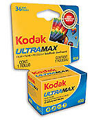 Kodak 6034052 UltraMax 400 135/24 Film (pack of 3)