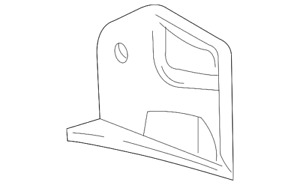 Genuine Ford Rear Extension XF2Z-16B146-AA