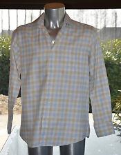 HUGO BOSS  - Très jolie chemise two ply  à carreaux - Taille 39 - EXCELLENT ÉTAT