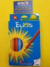 Matite colorate 36 colori elios(fila) conf.1 scuola ufficio