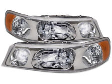 98-02 Lincoln Town Car Halogen Headlights New Replacement Set