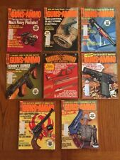 Guns & Ammo Magazine 1973 Annual Buyers Guide Plus 7 Issues Hunt Shoot Collect