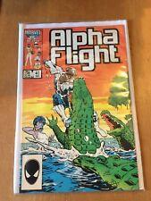 MARVEL COMICS - ALPHA FLIGHT #41 (DEC 1986) VFN+