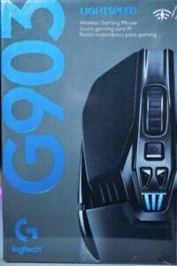 LOGITECH G903 HERO LIGHTSPEED RGB Wireless Optical Gaming Mouse - Free P&P