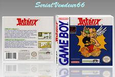 """Boitier du jeu """"ASTERIX"""", Game Boy, Nintendo. PAL FR. HD. SANS LE JEU."""
