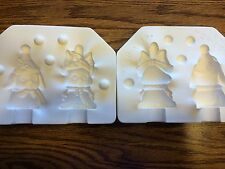 "New #425 Ceramic Emporium Mold ""Christmas Dog & Cat"" - LAST ONE"