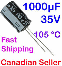 2pcs 1000uF 35V 12.5x20mm 105 °C Nichicon VZ For PC TV AUDIO VIDEO TFT ACL LCD