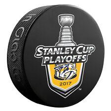 2017 NHL Nashville Predators Stanley Cup Playoffs Commemorative Hockey Puck