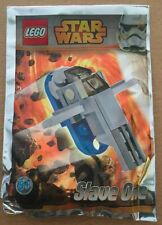 LEGO SET star wars POLYBAG MINIFIG NEUF VAISSEAU SLAVE ONE BOBA JANGO FETT