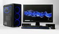 "VALUE GAMING PC SET Bundle i5  22"" TFT 8 GB DDR5 1TB 2GB DDR3 GT 710 WIN 10 WIFI"