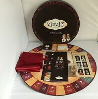 Zinzig Wine Edition Game Wine Tasting & Trivia Game Adult Wine Tasting Zin Zig