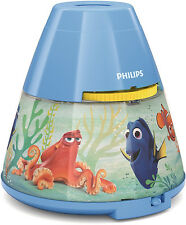 Philips Disney Finding Dory 2 in 1 Image Projector LED Night Light Kid Bedroom