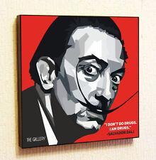 Salvador Dali decals Wall Decor Print Wall Art Poster pop Canvas Quotes