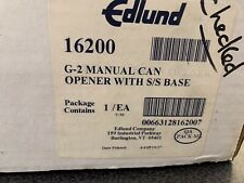Edlund Manual Can Opener 16200 G-2